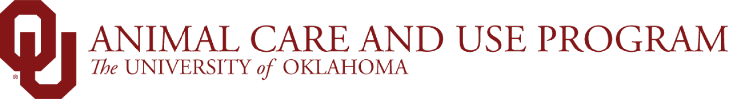 Animal Care and Use Program, The University of Oklahoma website wordmark