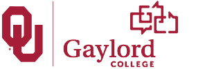 Gaylord College of Journalism and Mass Communication website wordmark