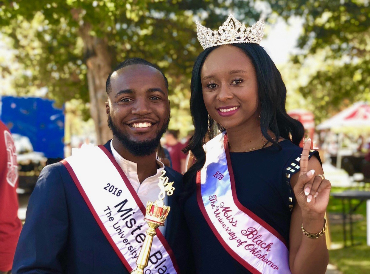 2018 Mr. and Miss Black OU
