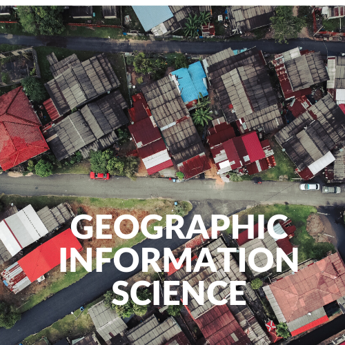 A drone's-eye view of a residential area. Geographic Information Science.