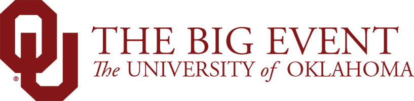 The Big Event, The University of Oklahoma website wordmark