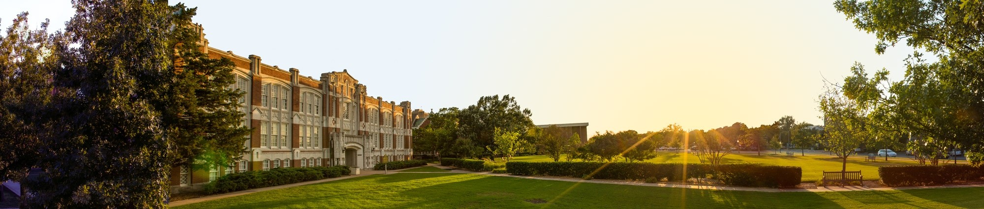 OU Campus panoramic view