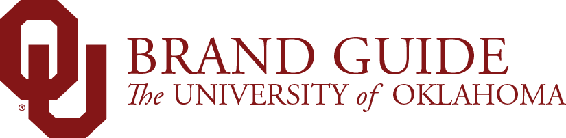 OU Brand Guide Website Header