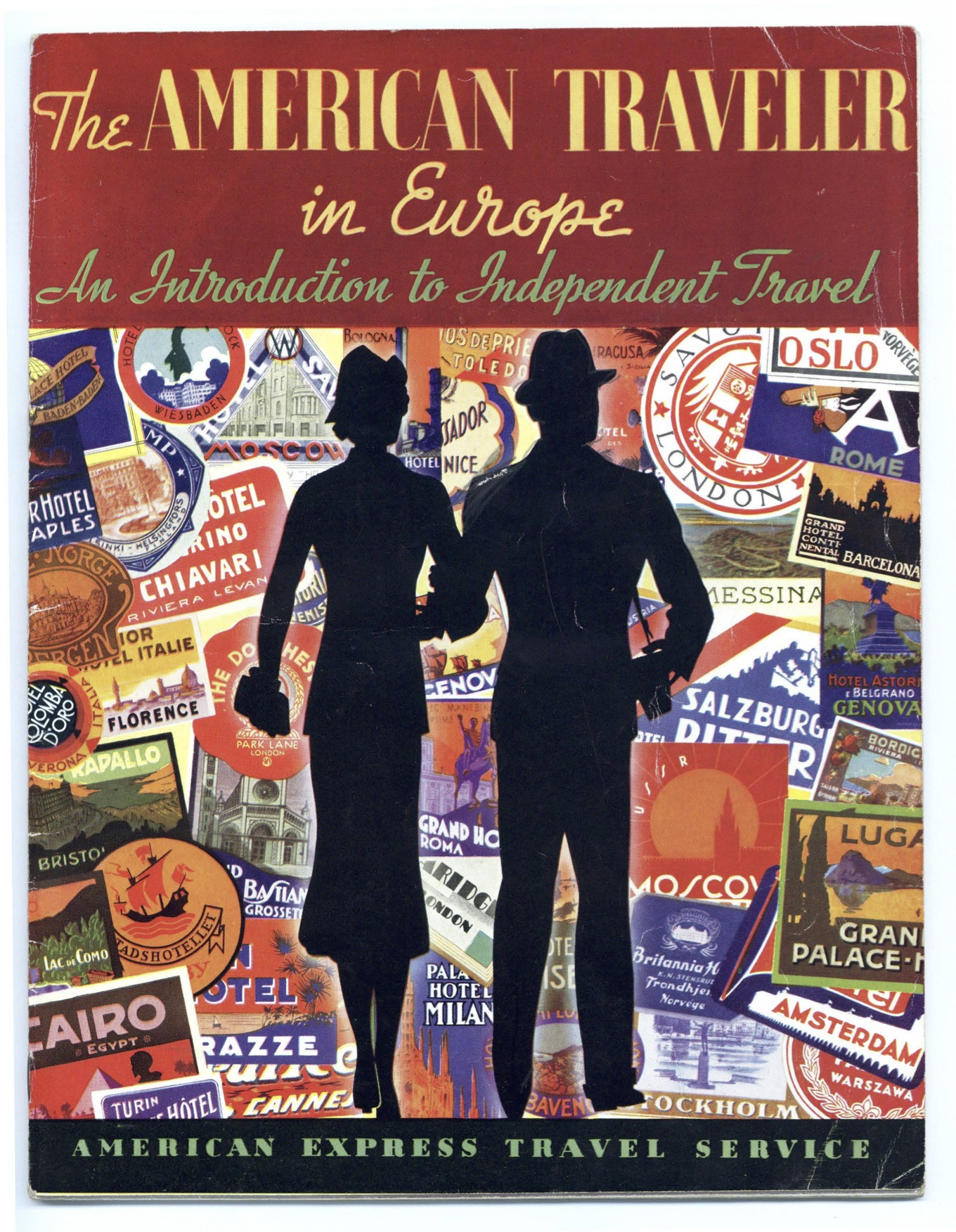 The American Traveler in Europe Booklet