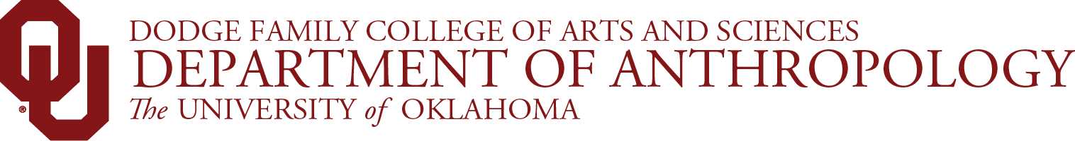 College of Arts and Sciences, Department of Anthropology, The University of Oklahoma website wordmark