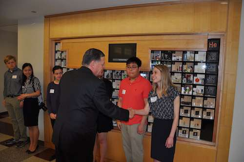 Congressman Cole Meets with Students