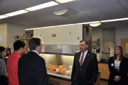 Congressman Tom Cole Speaks with Professor Charles Rice