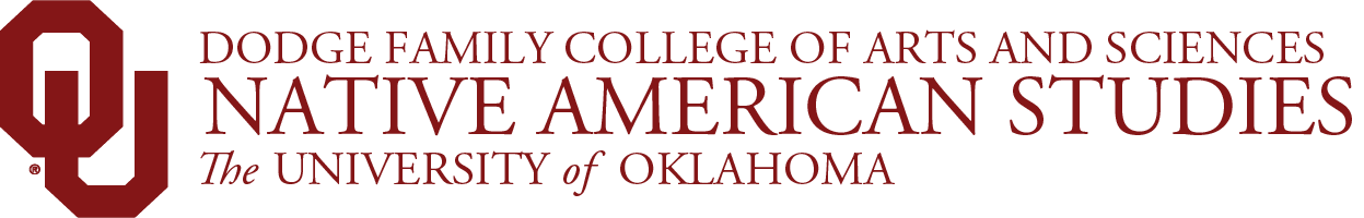 College of Arts and Sciences, Native American Studies, The University of Oklahoma website wordmark