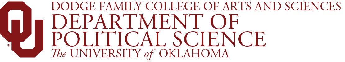 College of Arts and Sciences, Department of Political Science, The University of Oklahoma website wordmark
