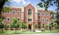 Front  of Zarrow Hall