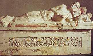 sarcophagus of lars pulena