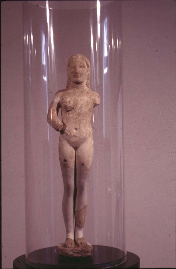Statuette of a Nude Goddess, Greek Island Marble, Second Half of 6th Century ...