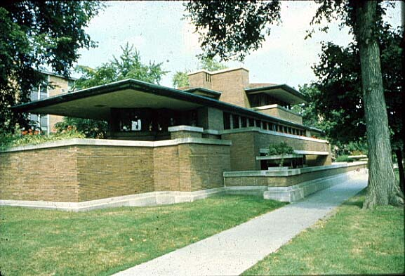 in the beginning the first frank lloyd wright