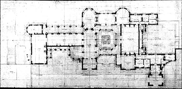 Some castle floor plans