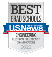 U.S. News & World Report Best Grad Schools 2015 Badge