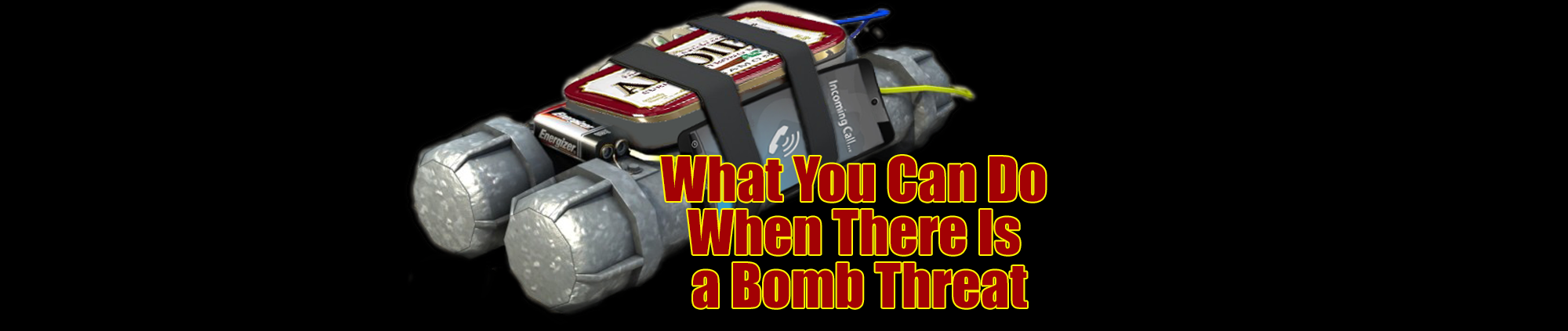 What you can do when there is a bomb theat...