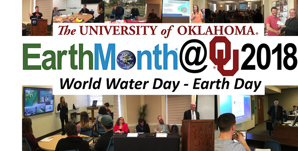 Images from EarthMonth@OU2018 events