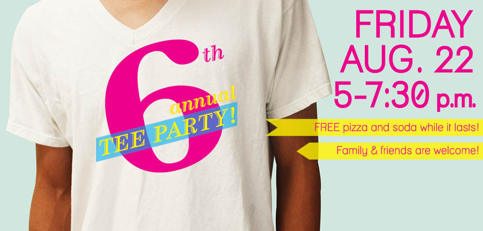 Sixth Annual Tee Party