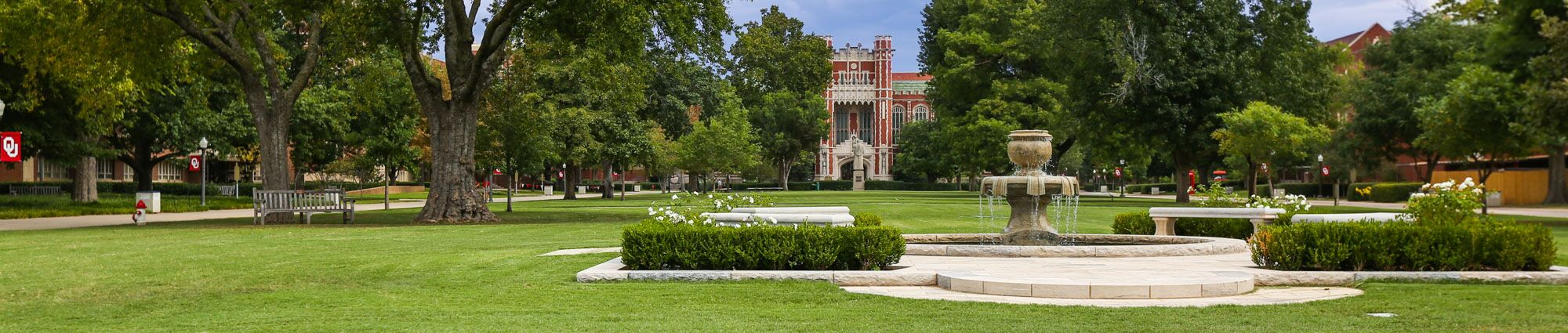 Landscape of University of Oklahoma Campus