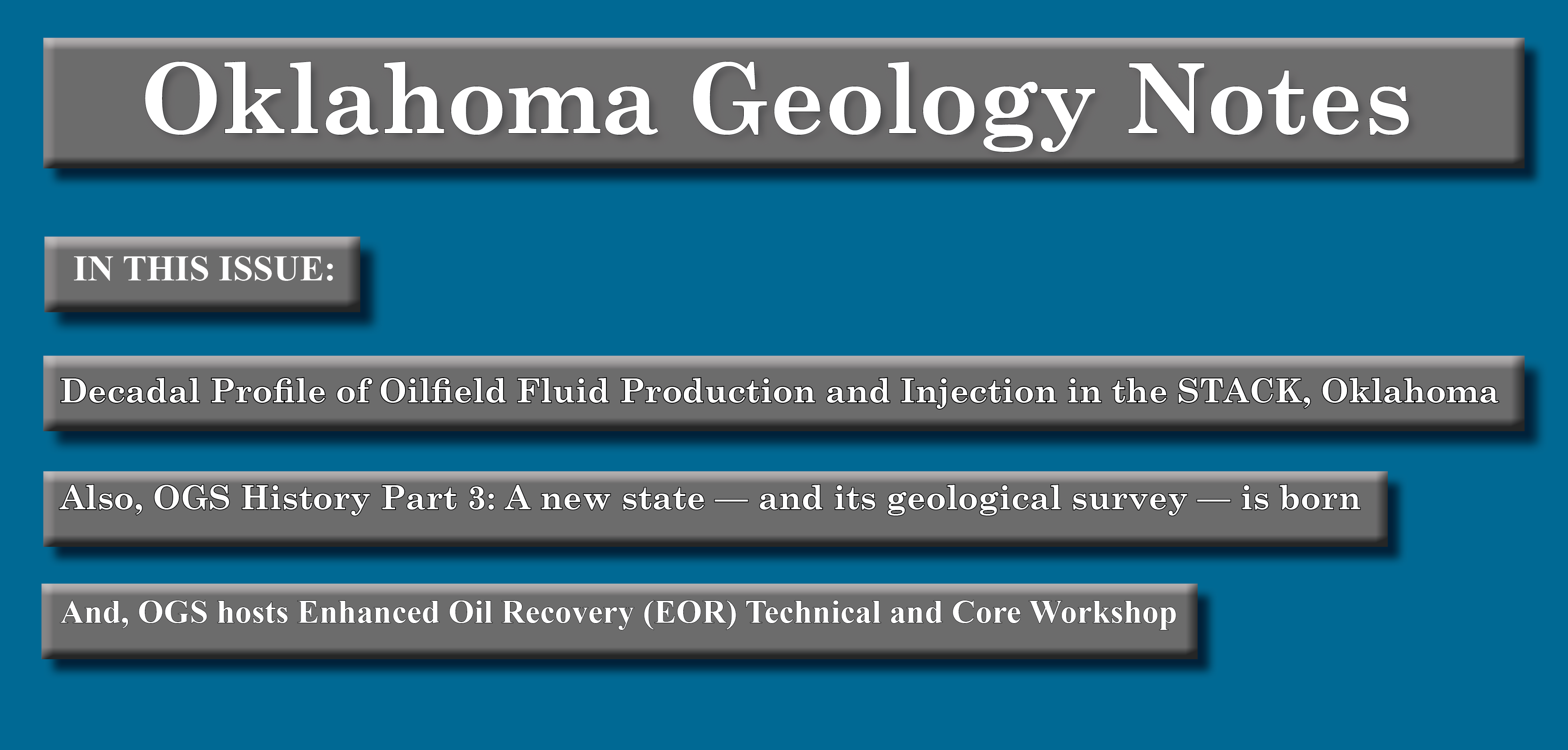 Oklahoma Geology Notes