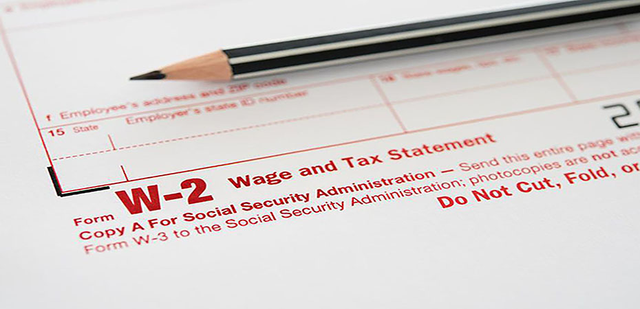 QUESTIONS ABOUT THE W-2?
