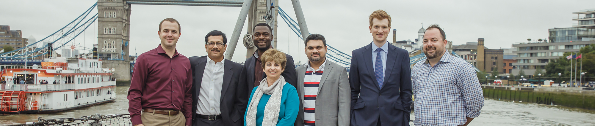 EMBA group photo in London