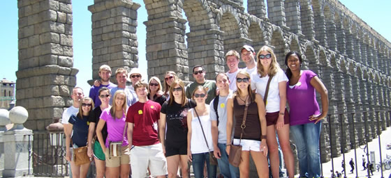 Enroll in Capstone and International Business; visit Madrid, Barcelona, Toledo, and Segovia; experience tapas, flamenco music; learn about art and Spanish culture.