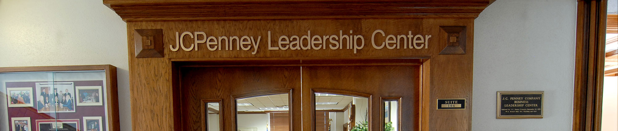 JCPenney Leadership Center entrance