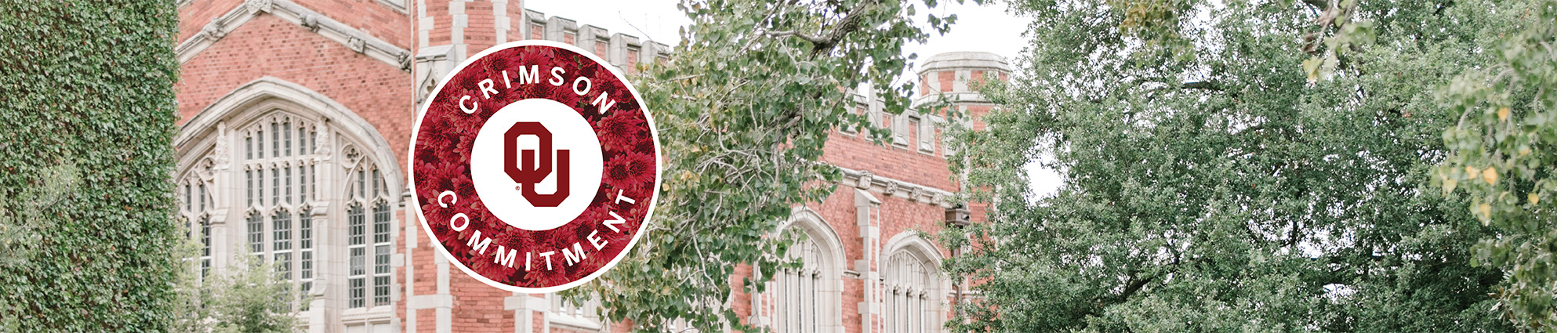 Free tuition and average student fees for qualifying Oklahoma's Promise students. Crimson Commitment is OU's dedication to making OU affordable for OK residents.