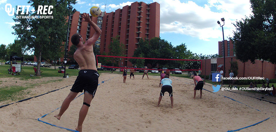 intramural sports sand volleyball