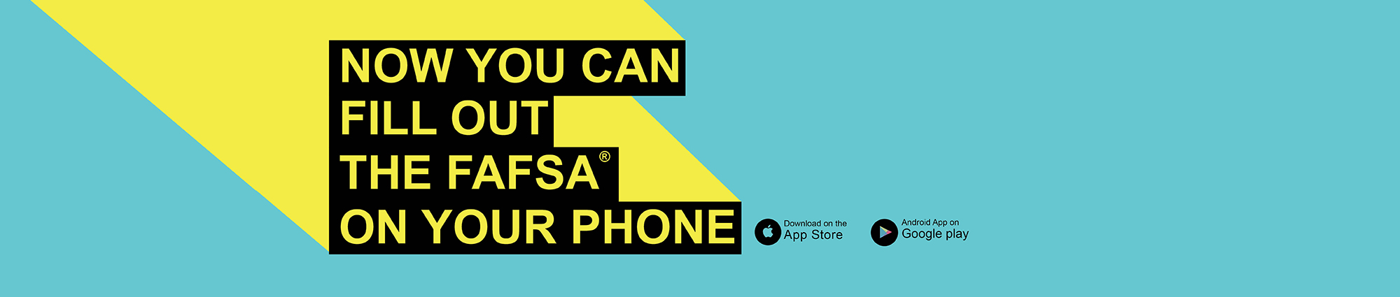 Now you can fill out the FAFSA on your phone!
