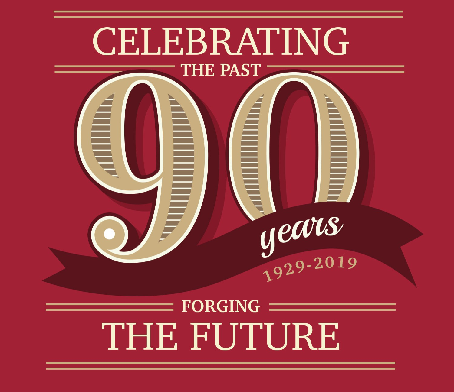 Celebrating the Past, Forging the Future 90 Years 1929-2019