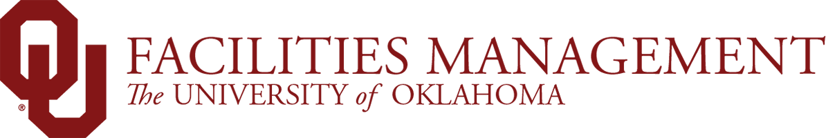 Facilities Management, The University of Oklahoma website wordmark