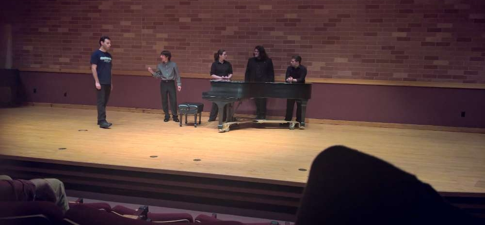 New Century Improv Ensemble performs Professor March and Rag by Marvin Lamb
