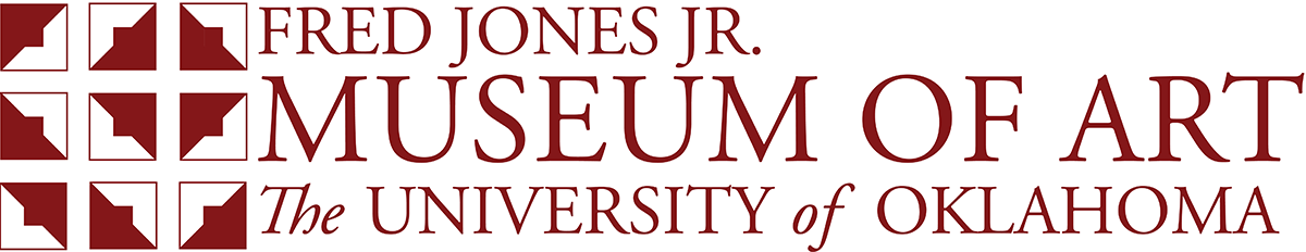 fred jones jr. museum of art website wordmark