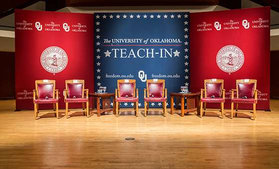 Teach-In stage