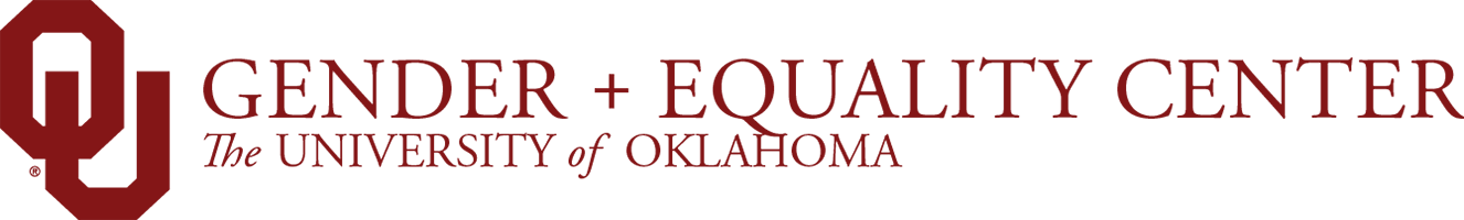 Gender and Equality Center website wordmark