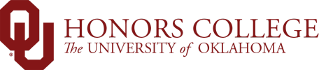OU Honors College, The University of Oklahoma website wordmark