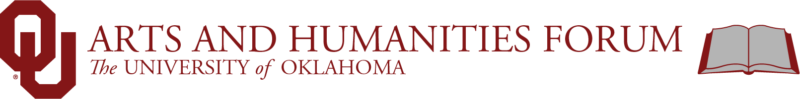 Humanities Forum, The University of Oklahoma website wordmark