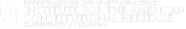 Institute for the American Constitutional Heritage, The University of Oklahoma website wordmark