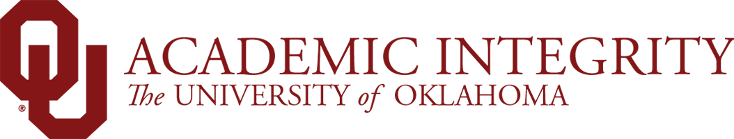 Academic Integrity, The University of Oklahoma website wordmark