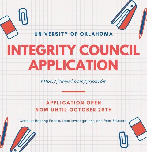 Flier for the Integrity Council Application