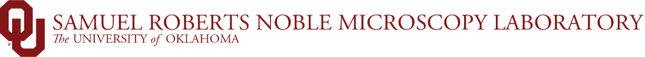 Samuel Roberts Noble Microscopy Laboratory, The University of Oklahoma website wordmark