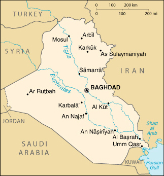 Cartina Kurdistan.Iraq Islam And Middle East