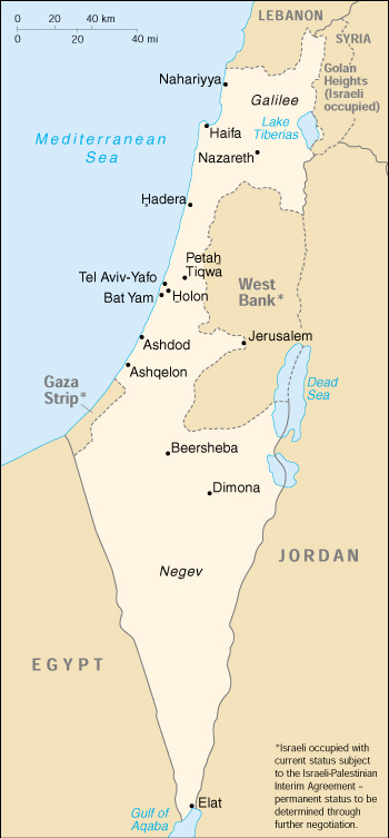 Middle East Map Dead Sea.Israel Islam And Middle East