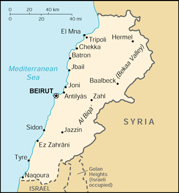 Lebanon Islam And Middle East