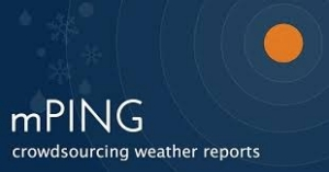 mPing crowdsourcing weather reports logo