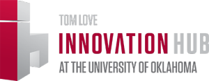 ih, Tom Love Innovation Hub at the University of Oklahoma logo