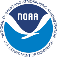 National Oceanic and Atmospheric Administration, U.S. Department of Commerce, NOAA logo