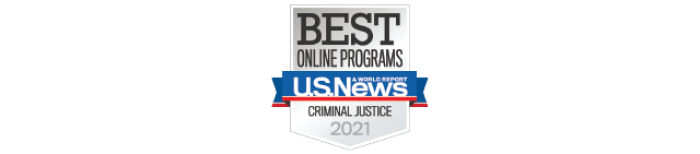 Top Criminal Justice program badge